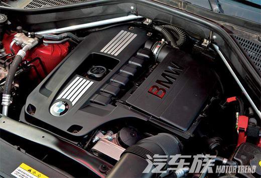 宝马X6发动机