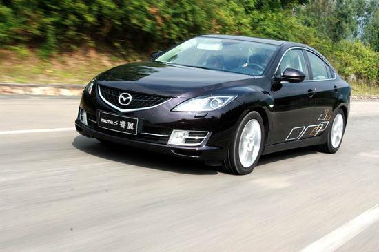 图为Mazda6睿翼