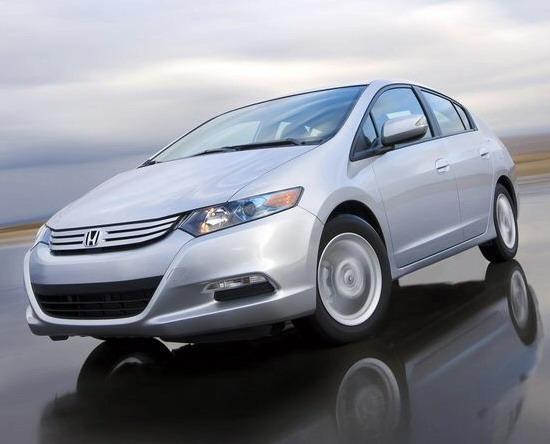 图为本田混合动力车Insight更多图片欣赏-Honda混合动力车型累计销量高清图片