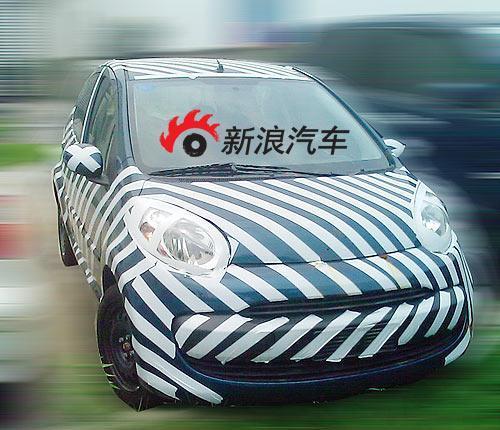 热心网友发布的江淮同悦版微车C1实拍谍照