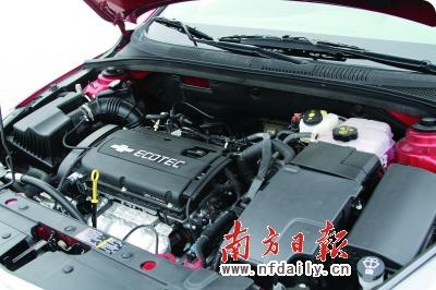 上海通用雪佛兰科鲁兹发动机