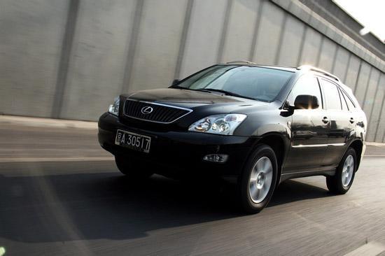 2007款雷克萨斯RX350