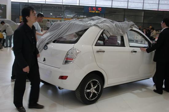 图为天津一汽X系列最新车型(原TFC-M2)