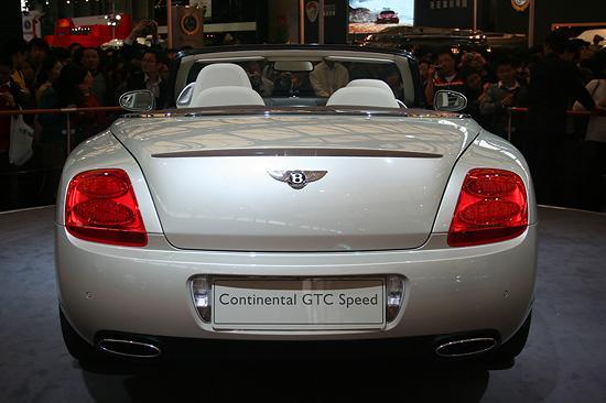 GTC车尾