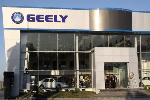 吉利在叙利亚最大经销店――新开业的霍姆斯新展厅