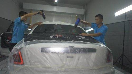 劳斯莱斯古思特 汽车贴膜案例分享高清图片