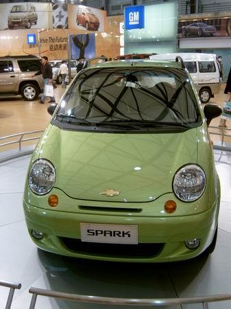 组图:有望近期推出的国产新车--SPARK(附参数)