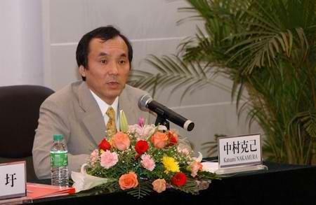 新东风总裁中村克己:目标是世界一流汽车企业(图)