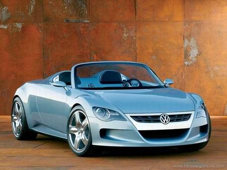 大众汽车推出双座敞篷轿跑车 R型概念车