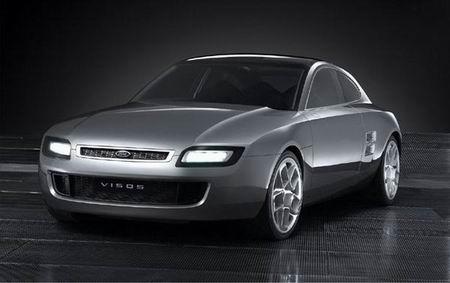 组图:法兰克福车展-VISOS昭示福特未来设计方向