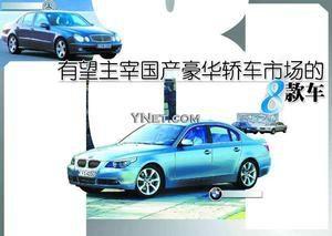 细数有望主宰国产豪华轿车市场的8款车型(图)