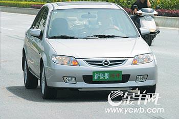 刹车大测评:04款福美来尊贵级(SDX)