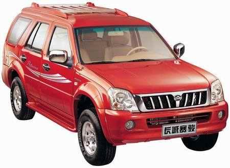 紧凑型城市越野SUV赛骏即将上市预计售价8-9万