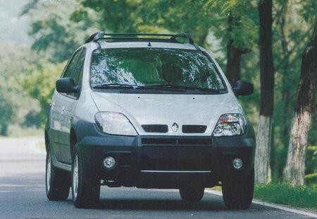 传教士--试驾雷诺风景RX4(图)