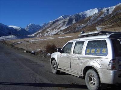富迪 征服川藏第一险高清图片
