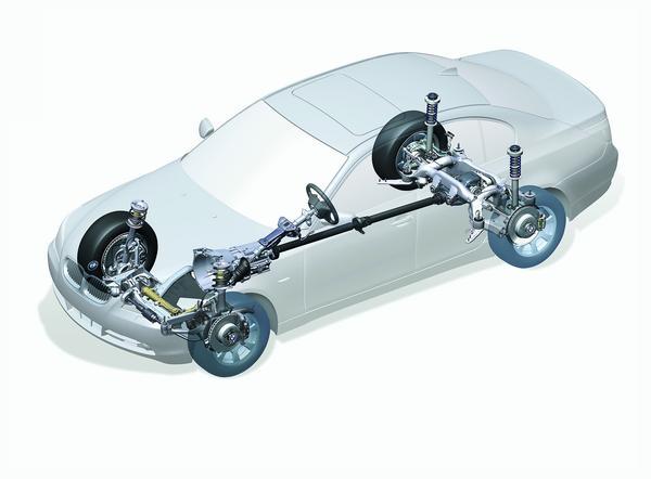 汽车底盘构造(图)