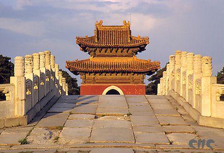 河北易县清西陵(图)