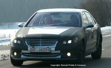 谍照:2006款奔驰新S系列