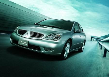 戈蓝在东南汽车投产将挂三菱标在上海车展展出