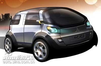 三菱概念车EZ MIEV将亮相日内瓦车展高清图片