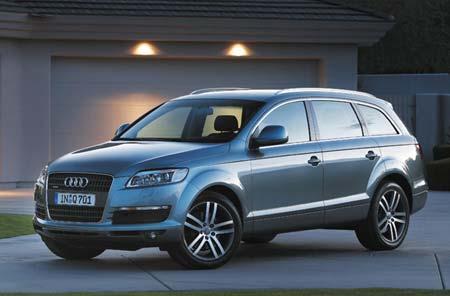 奥迪将推出首款SUVQ7基本型售4.89万欧元