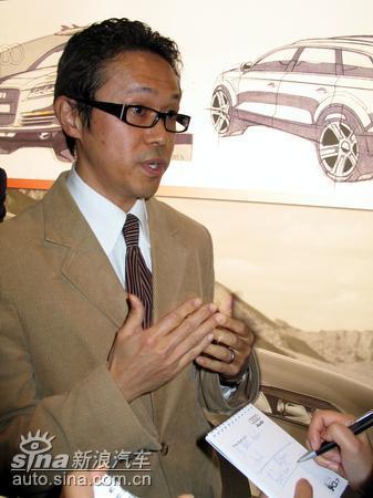 日本汽车设计师参与奥迪Q7研发(图)