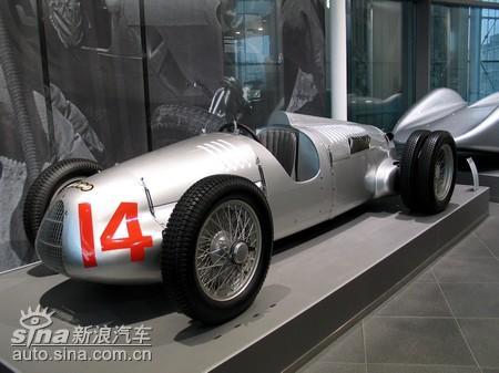 奥迪博物馆百年经典名车见证历史(组图)