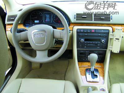 07款奥迪A4 3.0quattro中控台图片-操控之王 试驾07款奥迪A4 3.0quattro高清图片