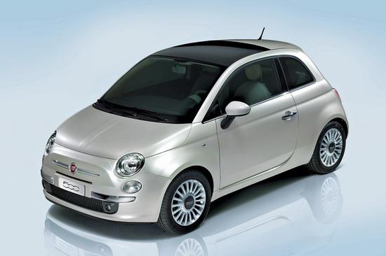 菲亚特500公布售价约0.79万-1.07万英镑