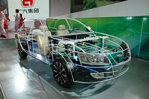 图解广汽四款自主概念车--电磁耦合混动总成