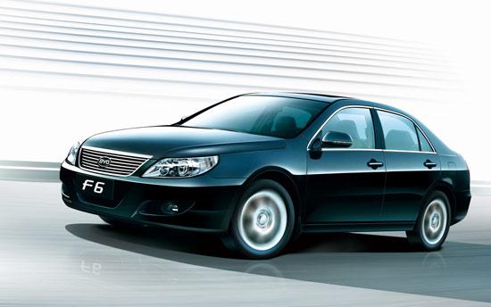 比亚迪首款中高级车F6上市售8.98-15.98万元