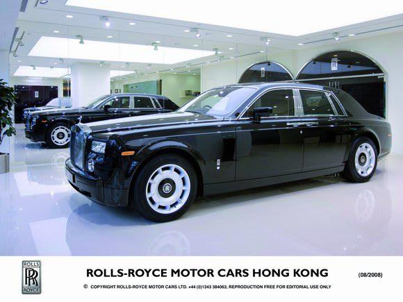劳斯莱斯汽车香港新展厅正式开业