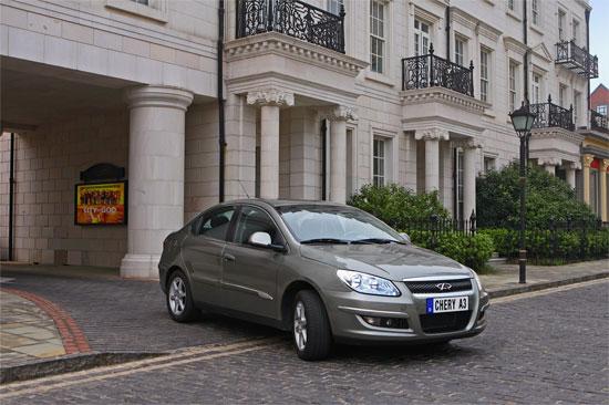 售价8.18万-8.98万元奇瑞A3开创家轿B00时代