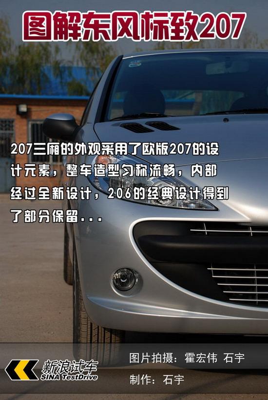 图解新车第28期详细图解东风标致207(组图)