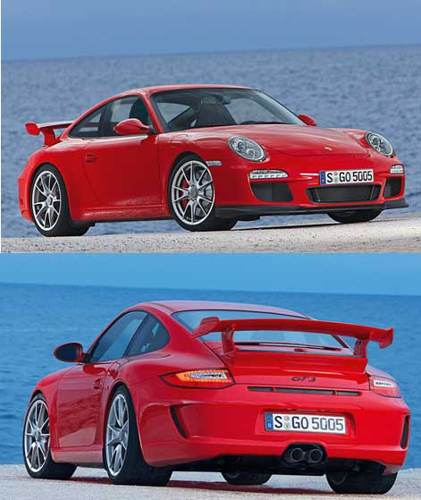保时捷911GT3升级亮相排量升至3.8升435马力