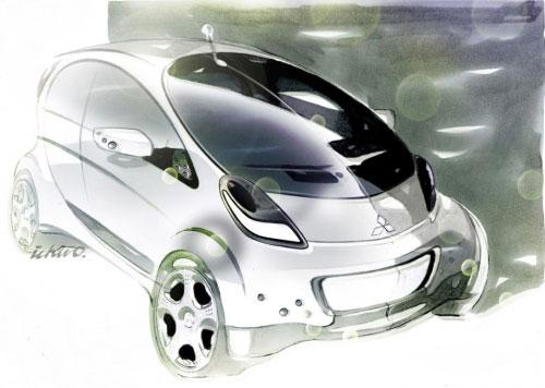 三菱iMiEV全电动车将在日内瓦车展首发(图)
