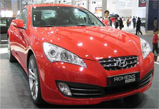 高性能运动跑车劳恩斯-酷派3月上市预售30万元