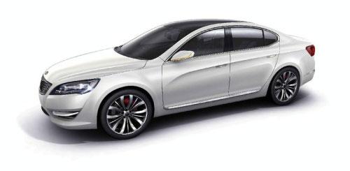 起亚KND-5概念车将亮相或成新一代欧菲莱斯