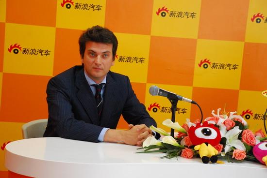 玛莎拉蒂业务部总监克里斯:中国已是第六大市场