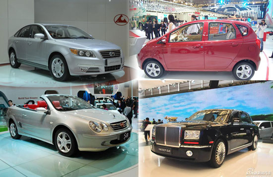 """上海车展另类看点:细数车展八大""""山寨""""车型"""