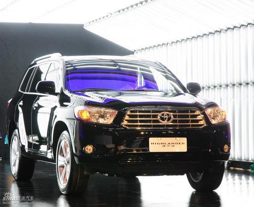 广汽丰田国产汉兰达投产下线6月20日上市销售