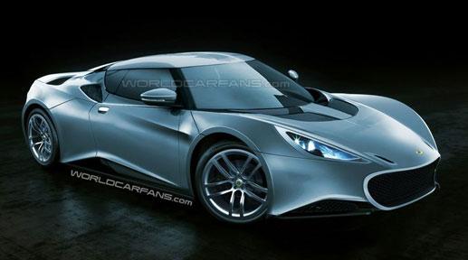 2012款莲花Esprit跑车亮相预计2011年上市