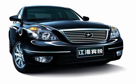 09款江淮宾悦长春车展上市售9.88-14.97万元