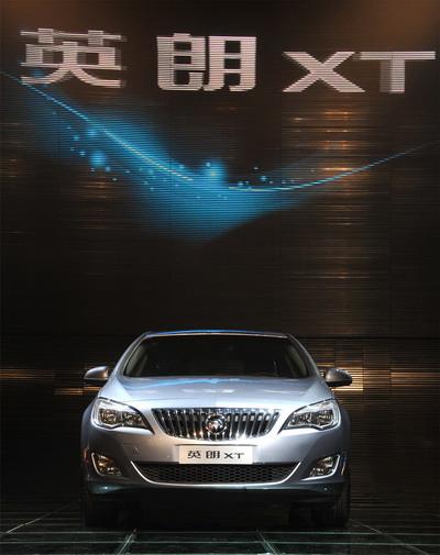别克英朗XT售13.49万起创中级5门轿跑风潮