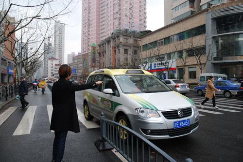 途安出租车-途安世博出租车让城市更精彩高清图片