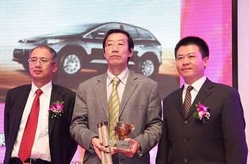 """MazdaCX-7获进口车""""年度性价比车型奖"""""""