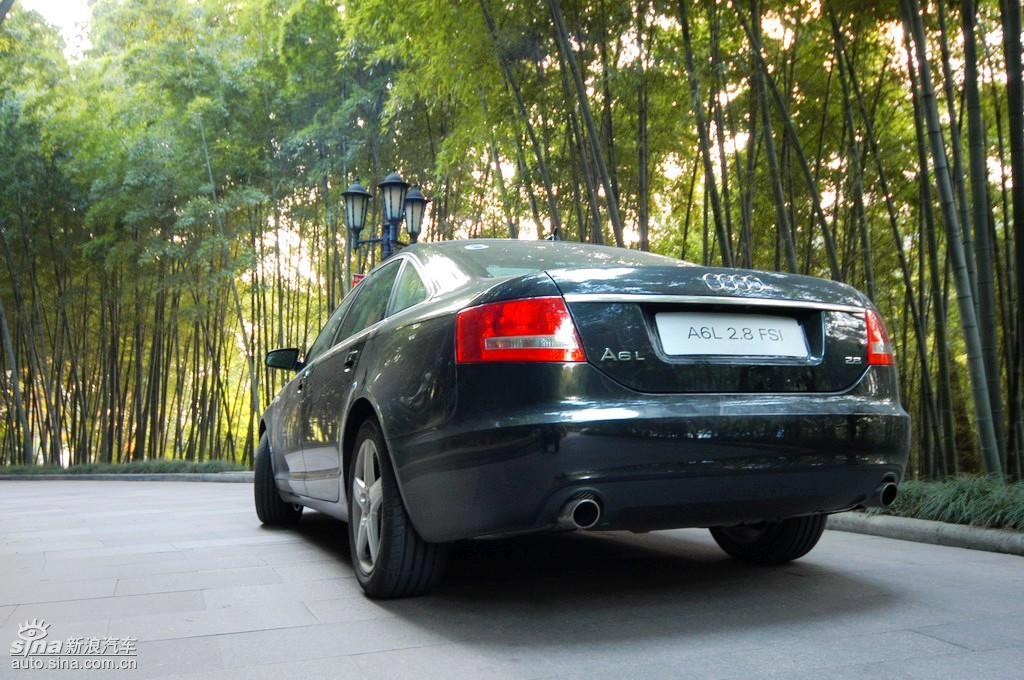 奥迪A6L 08年型外观高清图片