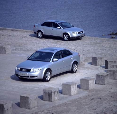 一汽大众新奥迪A4高清图片