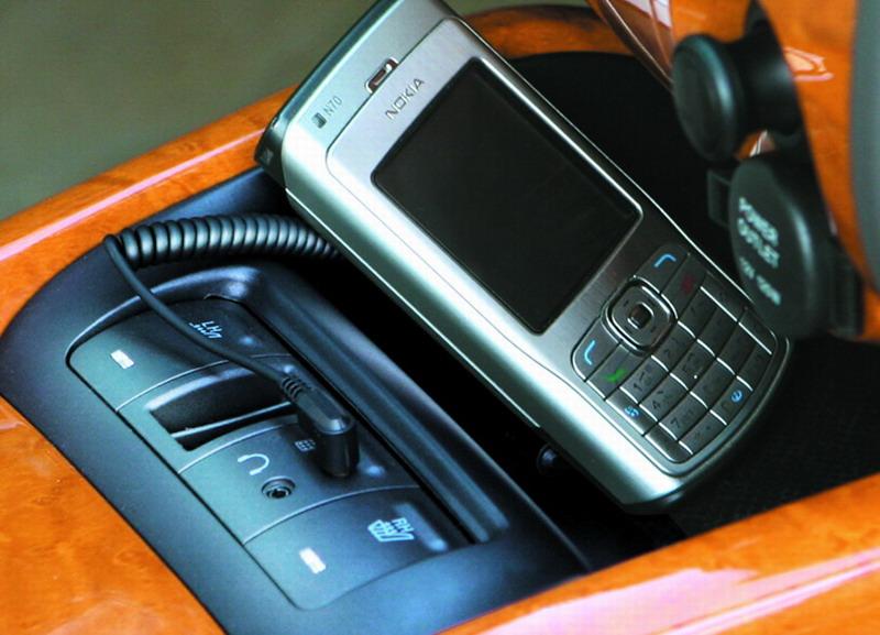 07款伊兰特手机免提装置