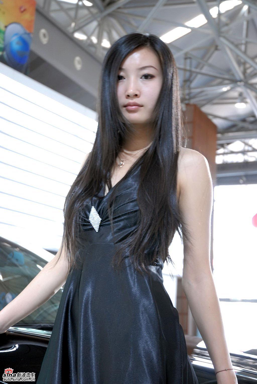 2008天津车展美女模特图片